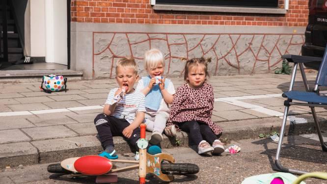 IN BEELD. Hasseltse kinderen vieren Buitenspeeldag in verkeersvrije straten doorheen de stad