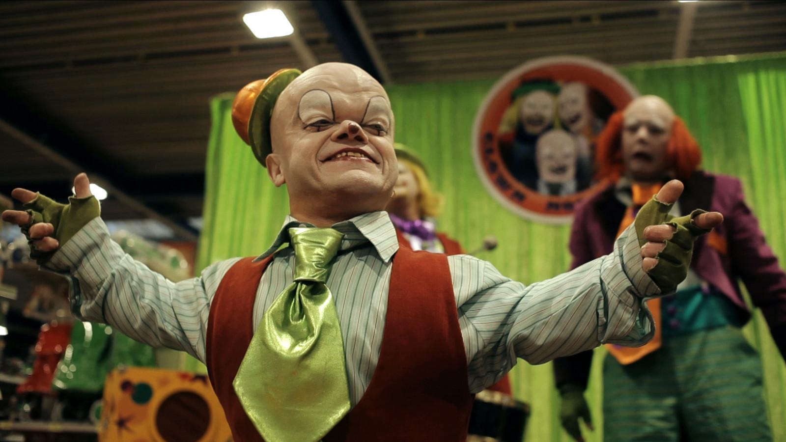 Chris Willemsen was onder andere te zien in 'Crimi Clowns'.