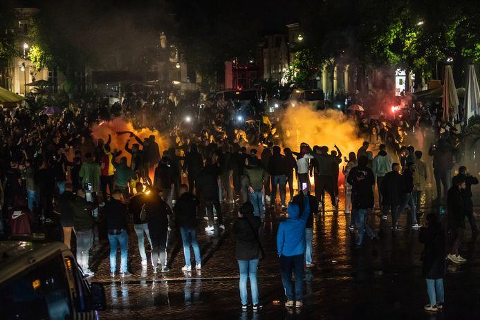 Deventer viert feest op de Brink.