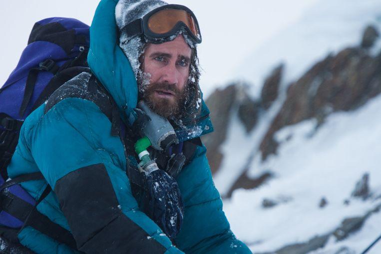 Jake Gyllenhaal in 'Everest'. Beeld Jasin Boland