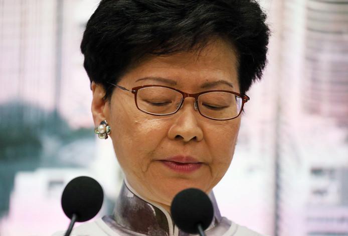 Carrie Lam, cheffe de l'exécutif de Hong Kong.