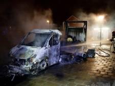 Kans op giftige dampen bij afgraven van brandplek drugstruck Eindhoven
