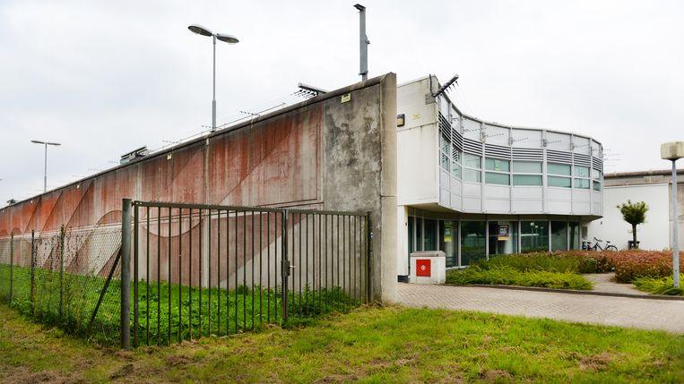 In de voormalige gevangenis De Grittenborgh in Hoogeveen worden nu overlastgevende asielzoekers opgevangen. Beeld ANP