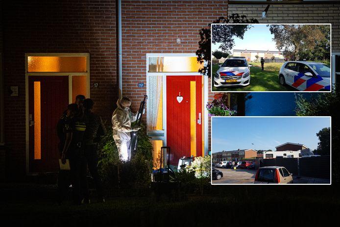 De woning in Heerde.