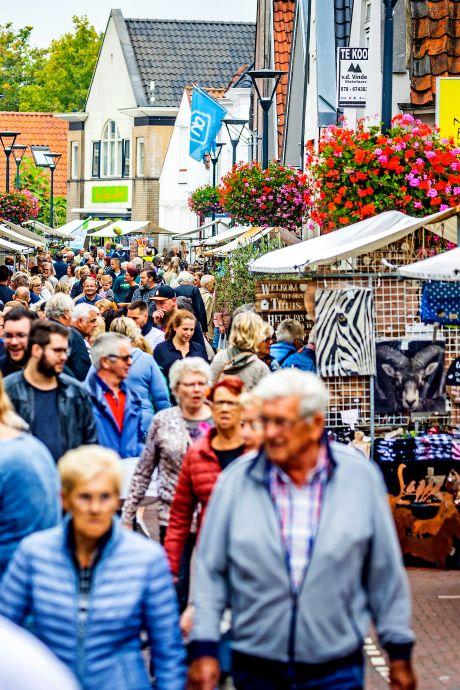 De Hoeksche Waard kon weer naar de Herfstmarkt en deed dat massaal: 'Alleen maar blije mensen'