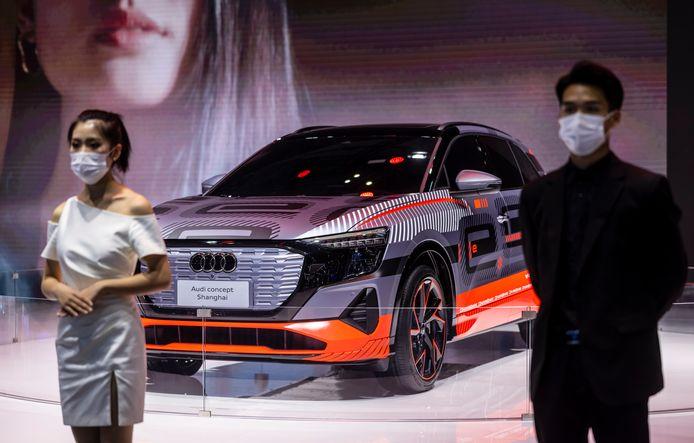 Audi heeft speciaal voor de autoshow van Sjanghai een conceptmodel ontworpen.