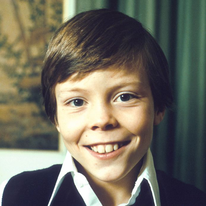 Prins Constantijn in zijn jeugd