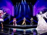 De Masked Singers zingen voor de eerste keer allemaal samen!