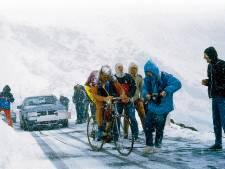 De Giro in oktober: 'Met een beetje pech sneeuwt het dan al'