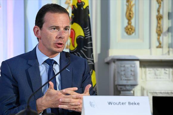 Vlaams minister van Welzijn Wouter Beke (CD&V).