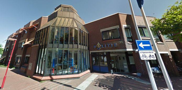 Het huidige politiebureau van Zoetermeer aan het Burgemeester Wegstapelplein de