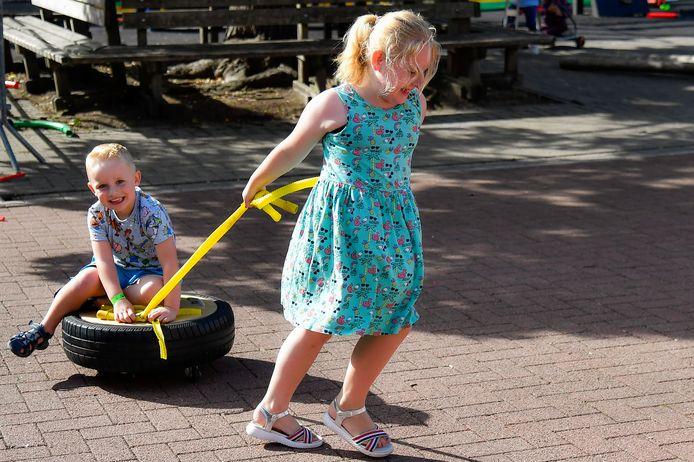 Er komt een speelstraat voor kinderen.