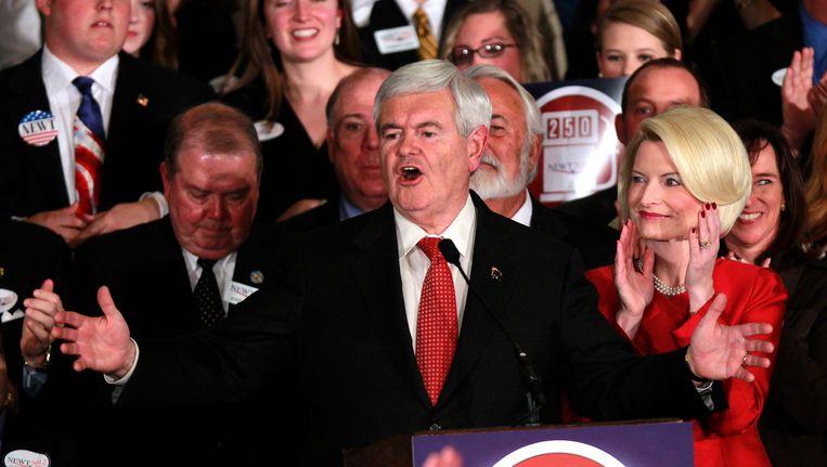 Newt Gingrich. Beeld AP
