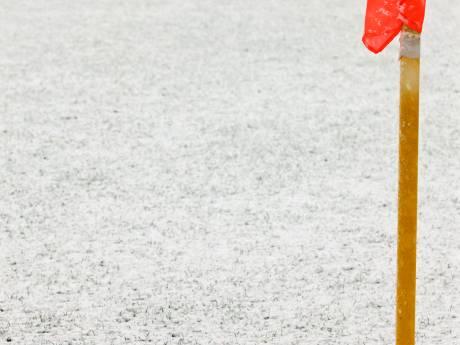 Wedstrijd De Treffers afgelast, streep door lagere voetbal