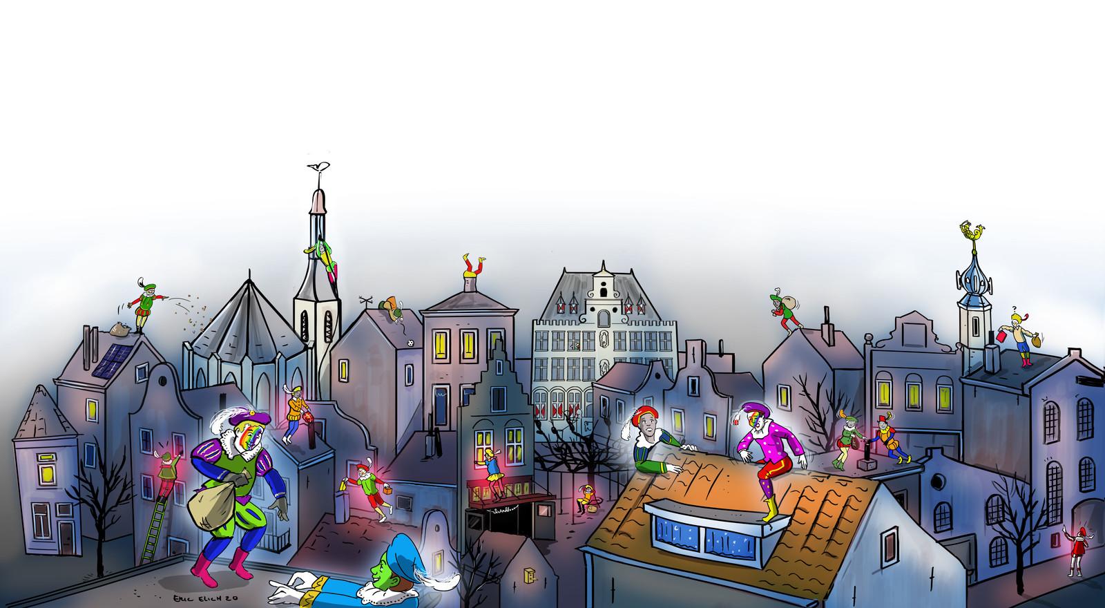 Zwart, roetvegen of een heel andere kleur: het uiterlijk van de rechterhand van Sinterklaas is al jaren punt van discussie.