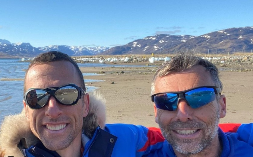 Sébastien Audy (l) naast Dixie Dansercoer.