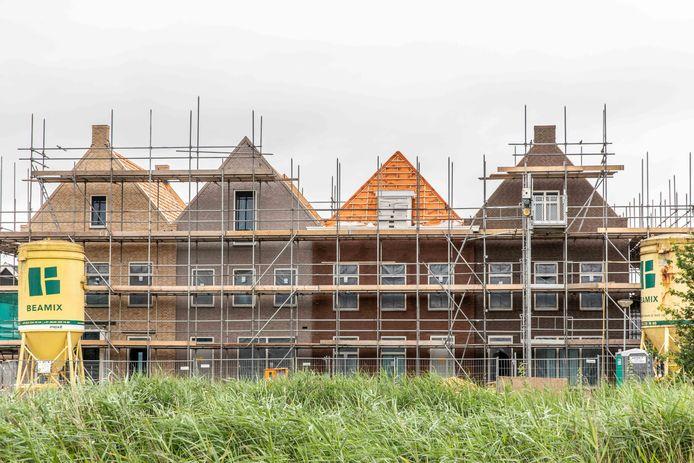 In Goes verrijst onder meer de nieuwbouwwijk Aria.