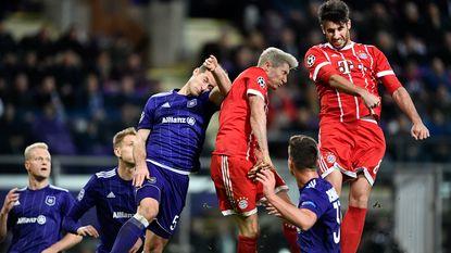 Anderlecht veegt de nul op verdienstelijke wijze weg, maar gaat toch onderuit tegen Bayern