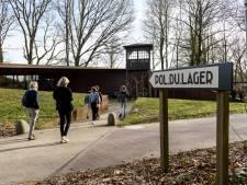 Premier Rutte en oud-gevangene (97) nemen nieuw ondergronds museum Kamp Amersfoort in gebruik