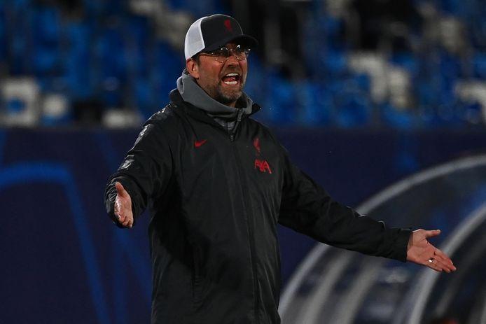 Het Liverpool van Jürgen Klopp verloor afgelopen dinsdag met 3-1 van Real Madrid in de kwartfinale van de Champions League.