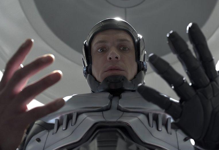 Joel Kinnaman in RoboCop van José Padilha. Beeld