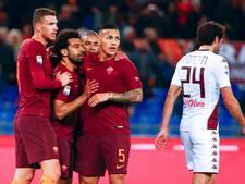 AS Roma terug op tweede plaats na klinkende zege