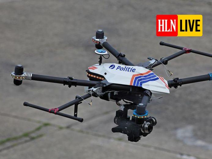 De politie gaat met de feestdagen drones inzetten om de coronaregels te handhaven.