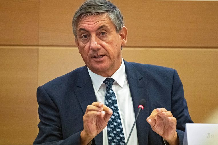 Toenmalig minister Jan Jambon, intussen Vlaams minister-president. Beeld Photo News