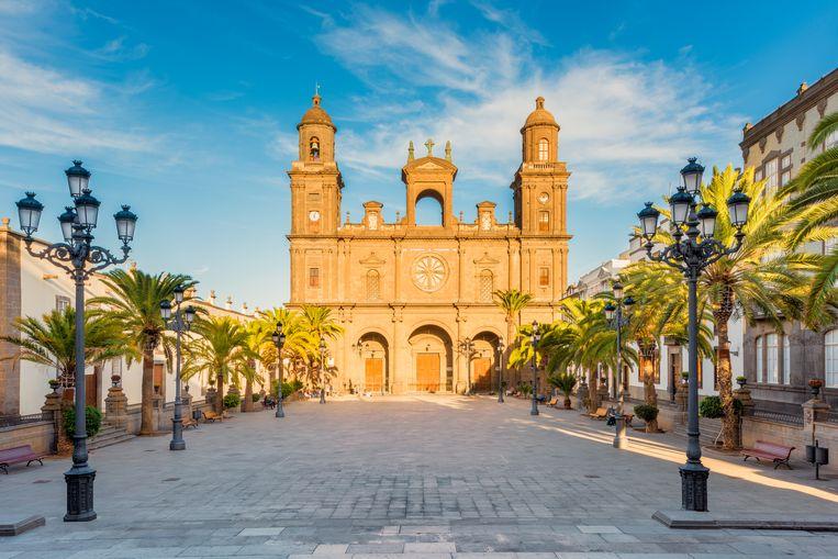 De Santa Ana-kathedraal op Gran Canaria. Beeld Getty