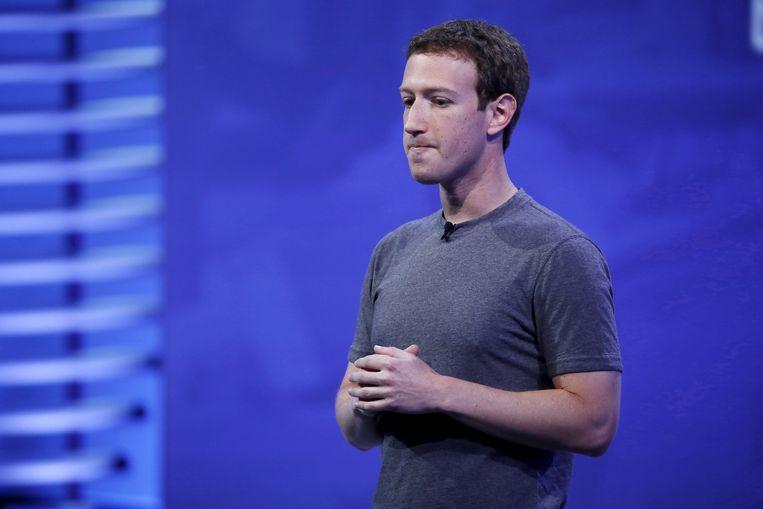 Mark Zuckerberg. Beeld REUTERS