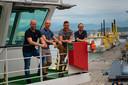 Vlnr: Wouter Blom, Thomas Sauer, Marten Leerink, Rieuwert Lulling.