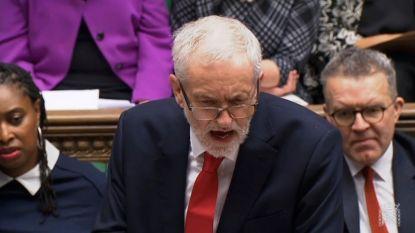 Labour-leider Corbyn kondigt toch vertrouwensstemming tegen May aan
