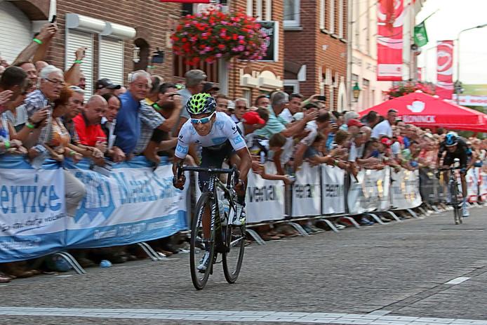 Nairo Quintana liet in Roosendaal zien zelfs te kunnen sprinten.
