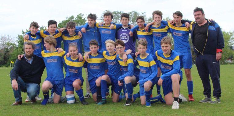 SKV Overmere speelde dit weekend kampioen.