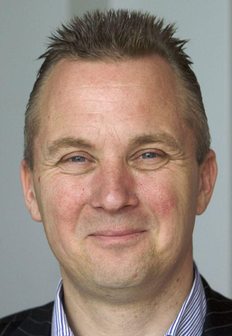 De Amsterdamse VVD-leider Eric van der Burg sluit samenwerking met de PVV niet uit. Foto Peter Elenbaas Beeld