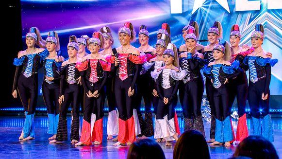 Team Marie-Flo is vrijdag te zien in Belgium's Got Talent