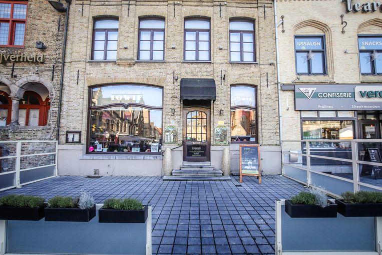 Veurne inbraak in restaurant Lowie: