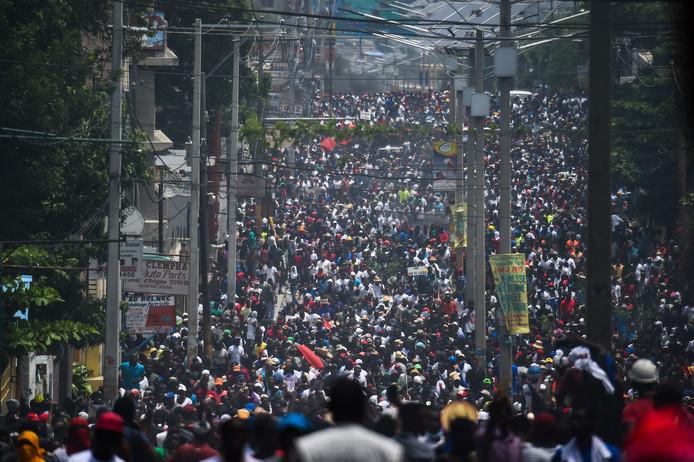 Port-au-Prince in Haïti.