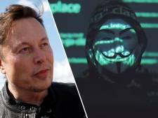 Anonymous s'en prend à Elon Musk