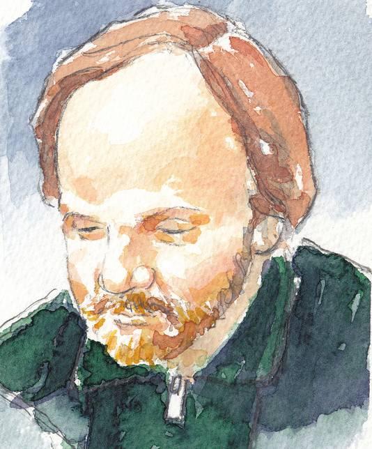 Rechtbanktekening van Jasper S.
