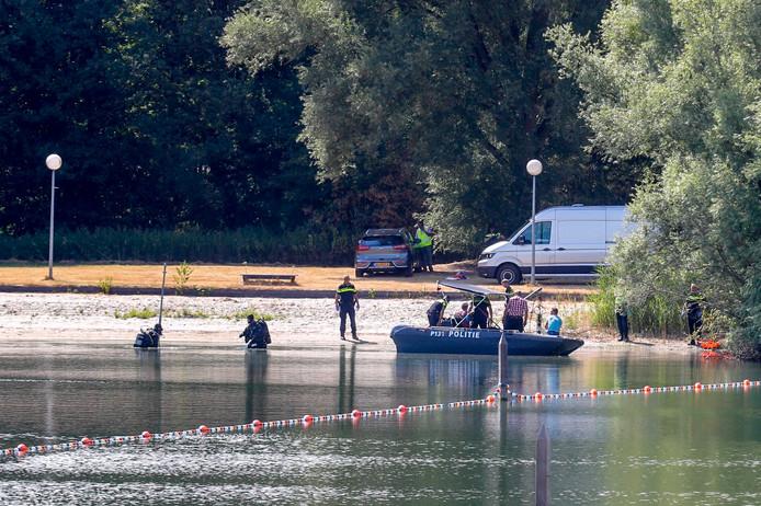 Het lichaam van de vermiste vrouw werd omstreeks 16.00 gevonden.