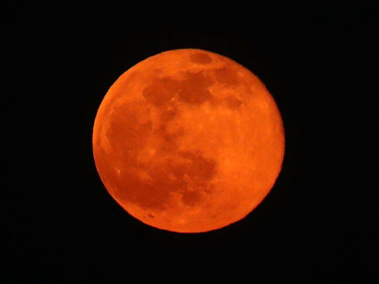 Cette nuit, c'était la Pleine Lune des neiges