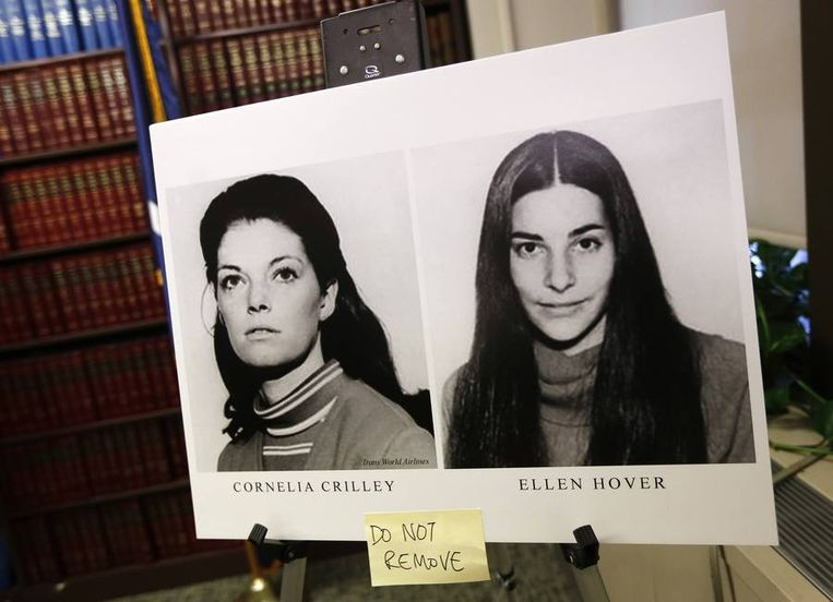 Cornelia Crilley en Ellen Hover. Beeld REUTERS