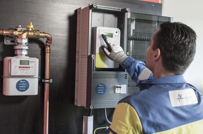 De nieuwe digitale meters vereisen zelf geen fysieke meteropname meer.