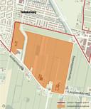 Dit gebied onder Leusden Zuid ziet Leusden staat te boek als locatie voor een nieuwe wijk.