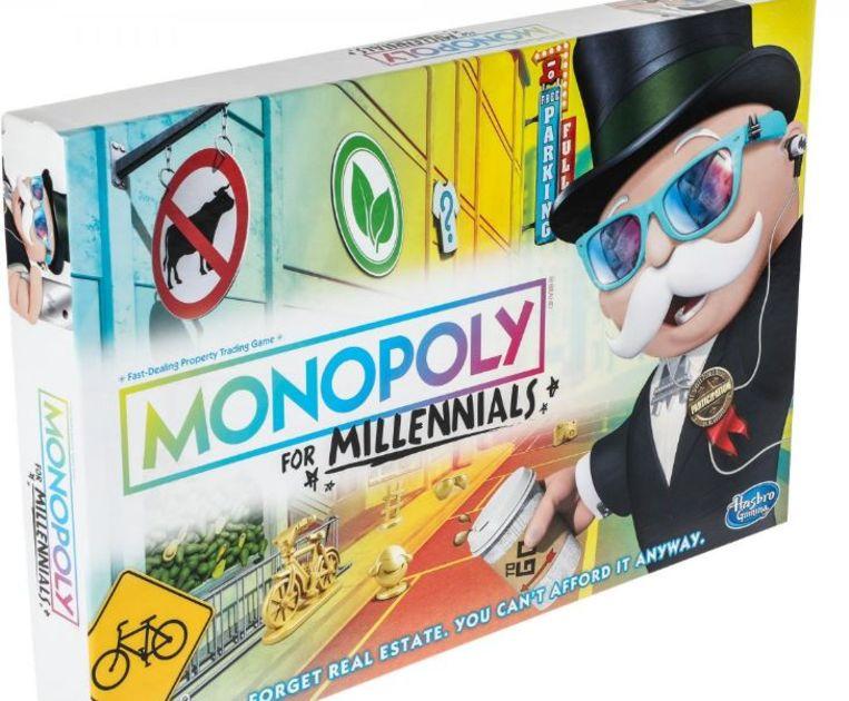Monopoly for Millennials Beeld Walmart