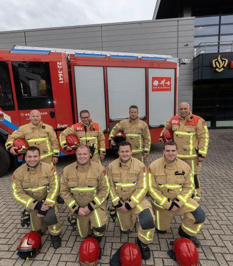 Deze vier vaders en vier zonen houden Lieshout veilig, allemaal als lid van de vrijwillige brandweer