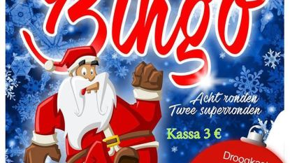 Speciale Kerstbingo in zaal Hoop In De Toekomst