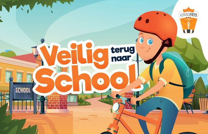 Geraardsbergen: CD&V deelde affiches uit om op te hangen in de schoolomgevingen.