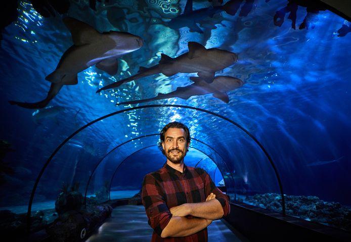 Illustrator Arne van der Ree: ,,Blijdorp is míjn dierentuin. De plek waar ik van kinds af aan al kom.''